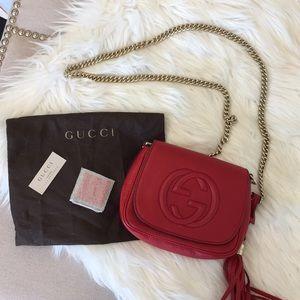 Gucci Soho Mini Chain Bag